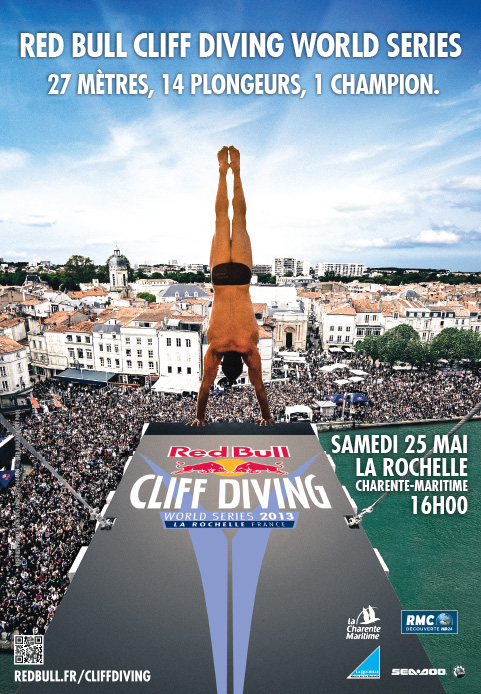 Red Bull Cliff Diving : affiche officielle