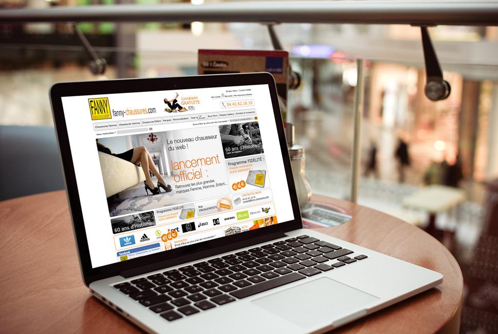 Fanny Chaussures : création d'un site de vente en ligne