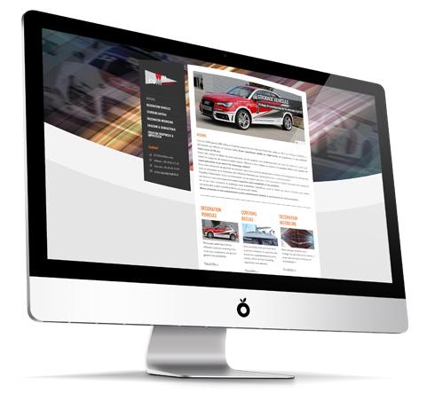 WillCom Publicité : réalisation d'un site internet