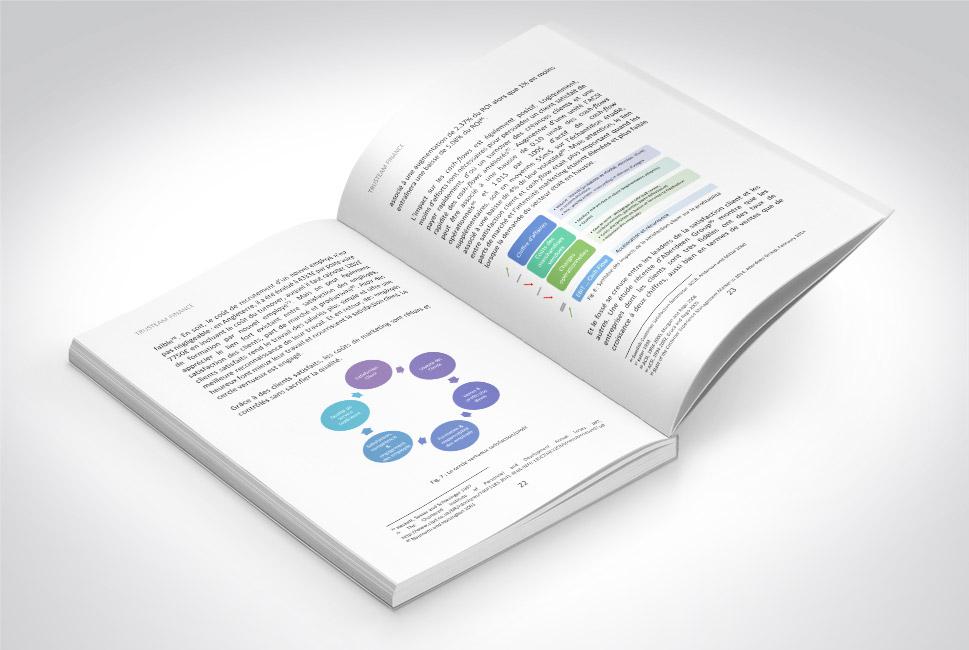 Trusteam - impression d'un livre en petite quantité à partir d'un document Word