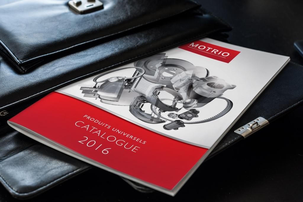 Brochure Motrio - catalogue produits