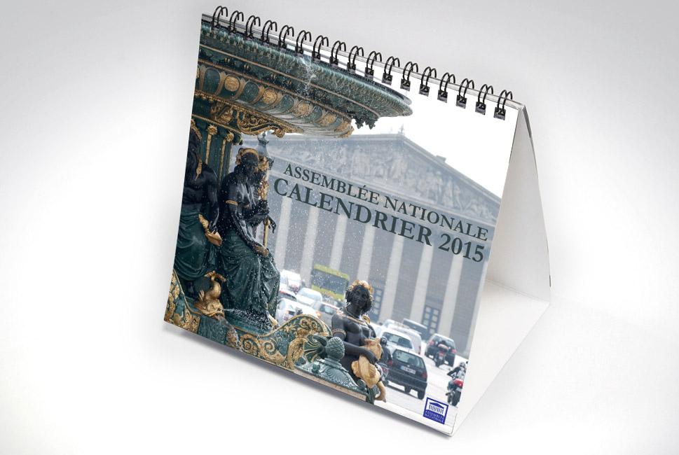 Calendrier pour l'assemblée Nationale