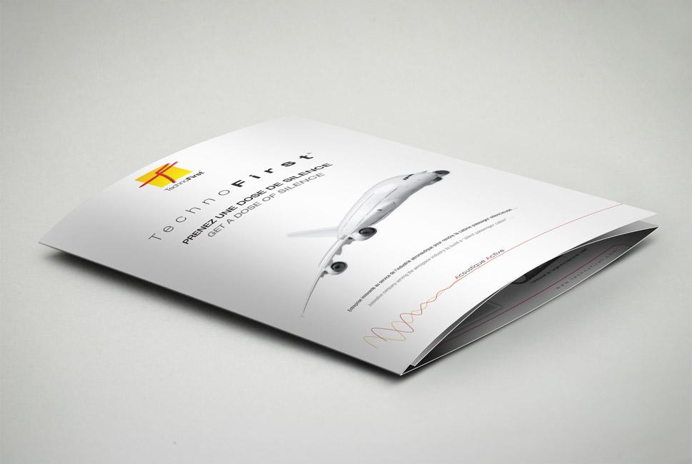 Plaquette de présentation de Technofirst