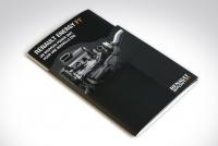 Brochure avec forme de découpe Renault Sport F1