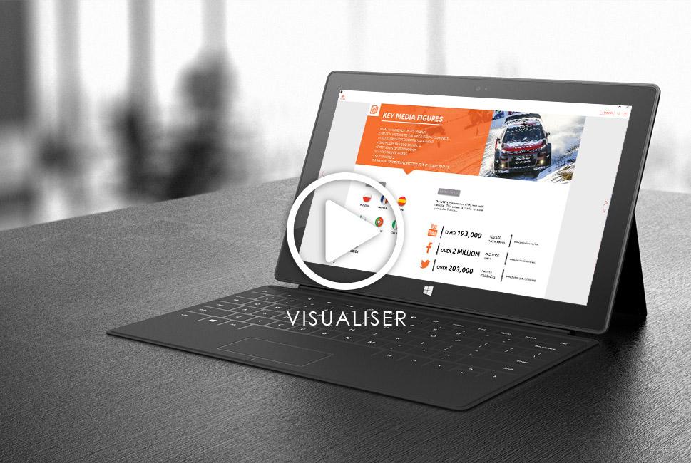 Flipbook et digital publishing pour Citroën Racing en WRC