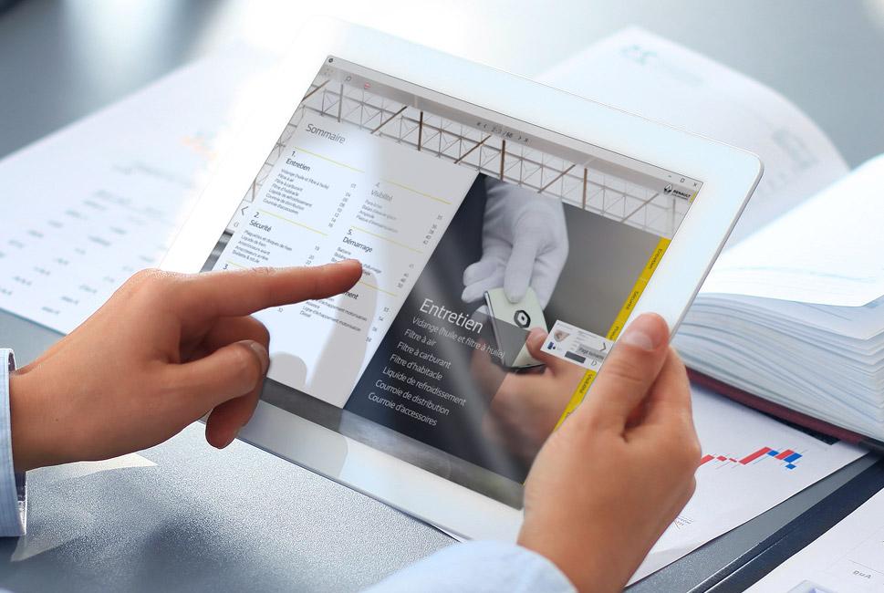 Digital Publishing pour un catalogue Renault
